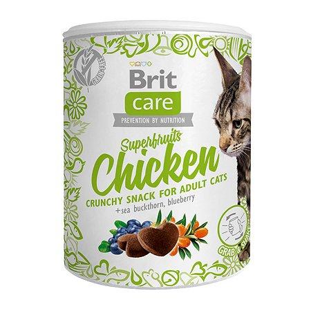 Лакомство для кошек Brit Care Super Fruits Курица 100г