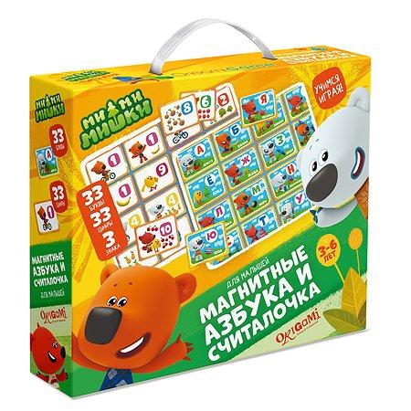 Игра настольная ORIGAMI МиМиМишки Азбука/Считалочка магнитная 03655