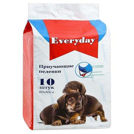 Пеленки для животных Everyday гелевые 60*60см 10шт