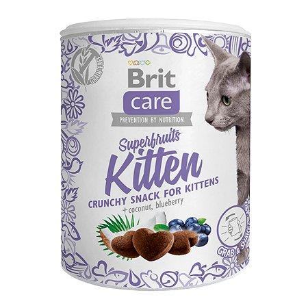 Лакомство для котят Brit Care Super Fruits Курица 100г