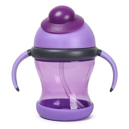 Поильник Baby Go с трубочкой Purple CC-CI-0122