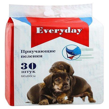 Пеленки для животных Everyday гелевые 60*60см 30шт