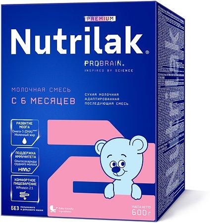 Смесь молочная Nutrilak Premium 2 с 6 месяцев 600г
