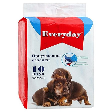 Пеленки для животных Everyday гелевые 60*90см 10шт
