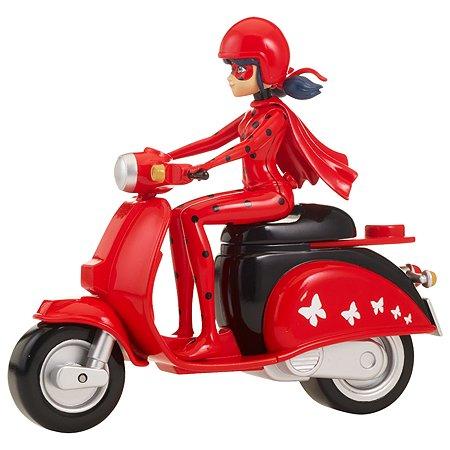 Фигурка Miraculous Леди Баг на скутере
