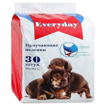 Пеленки для животных Everyday гелевые 60*90см 30шт