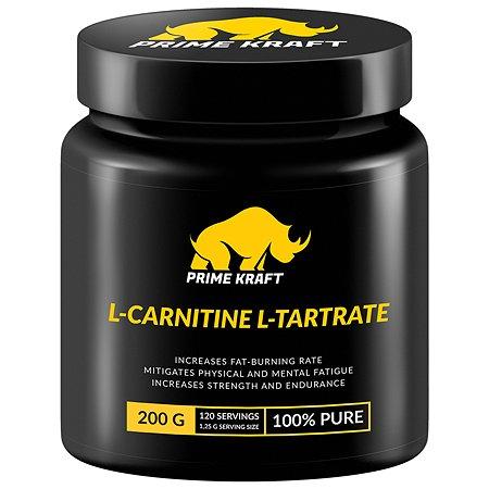 L-Карнитин Prime Kraft L-Сarnitine L-Tartrate 200г