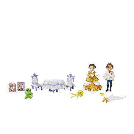 Игровой набор Princess маленькая кукла Принцесса и свадьба Рапунцель B5343EU40