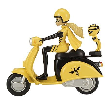 Фигурка Miraculous Квин Би на скутере