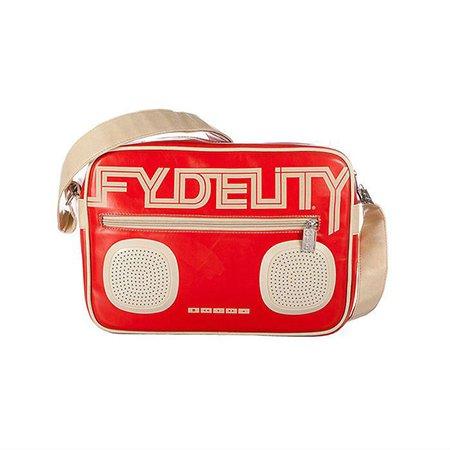 Сумка Fydelity красная