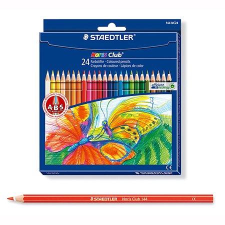 Карандаши цветные Staedtler Noris Club 24 цвета