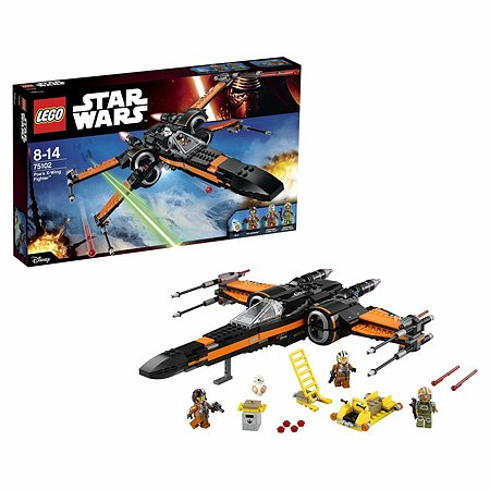 Конструктор LEGO Star Wars TM Истребитель По (Poe's X-Wing Fighter™) (75102)