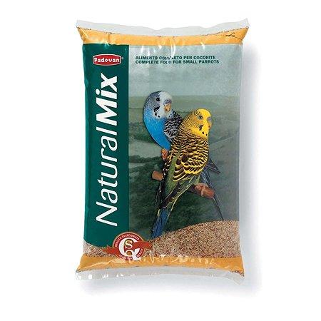 Корм для волнистых попугаев PADOVAN Naturalmix основной 5кг