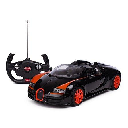 Машинка на радиоуправлении Rastar Bugatti Vitesse USB 1:14 Черная