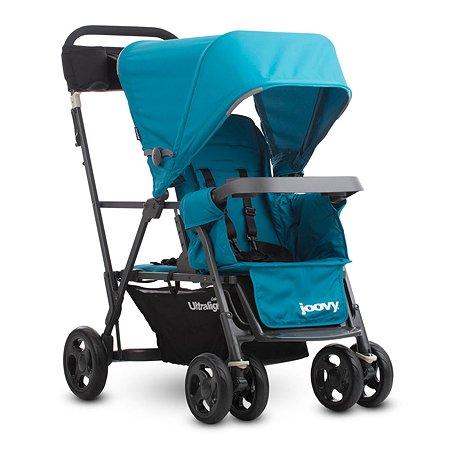 Прогулочная коляска JOOVY Caboose Graphite Ultralight Голубая