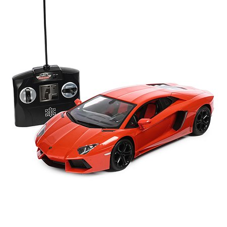 Машинка на радиоуправлении Mobicaro Lamborghini LP700 1:14 34 см Оранжевая
