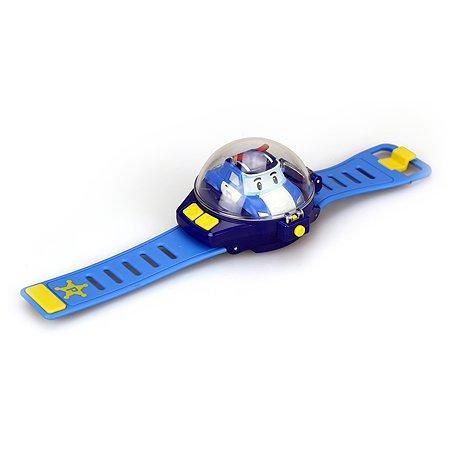Игровой набор POLI Часы с мини машинкой на ДУ