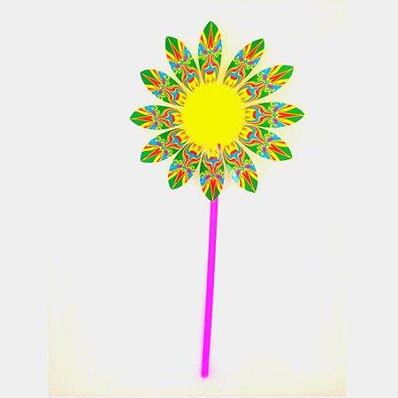 Игрушка-ветряк Devik Toys Цветок