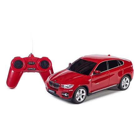 Машинка р/у Rastar BMW X6 1:24  красная