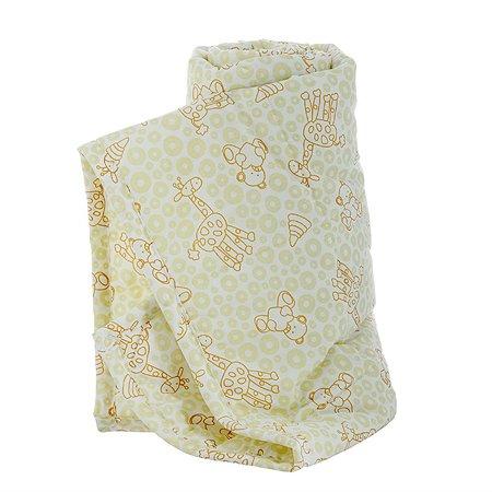 Одеяло стеганое Baby Nice 105х140 (файбер) бежевое