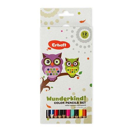 Цветные карандаши Erhaft 12 шт