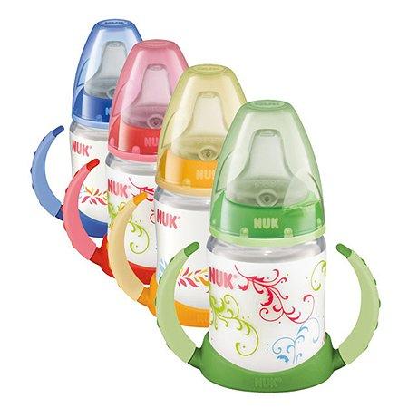 Бутылочка-поильник Nuk First Choice 150 мл пластиковая в ассортименте