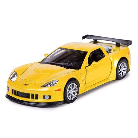 Машинка Mobicaro Chevrolet Corvette 1:32 Жёлтый металлик