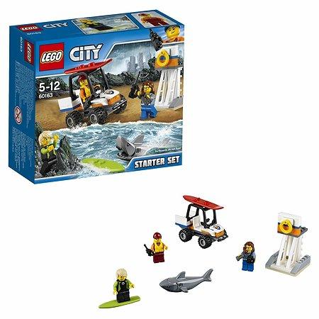 Конструктор LEGO City Coast Guard Набор для начинающих «Береговая охрана» (60163)