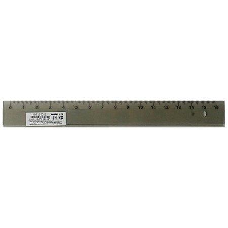 Линейка Prof Press прозрачная тонированная 16 см Л-9285