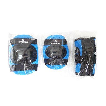 Набор защиты для роллера Kreiss (синий) L