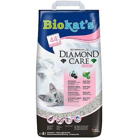 Наполнитель для кошек Biokats Черный бриллиант Фреш 8л