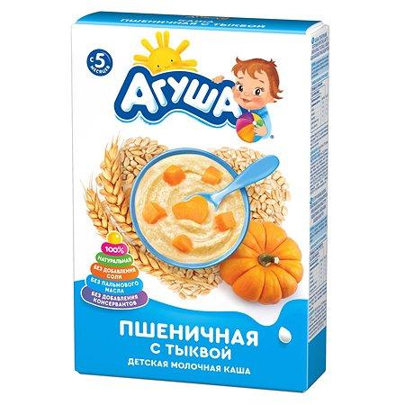 Каша молочная Агуша пшеница-тыква 200г с 5месяцев