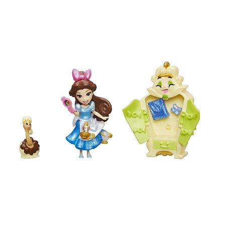 Игровой набор Princess маленькая кукла Принцесса и гардеробная Бэлль B8940EU40