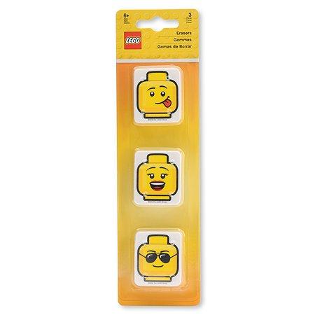 Ластики LEGO Iconic 3шт 51142