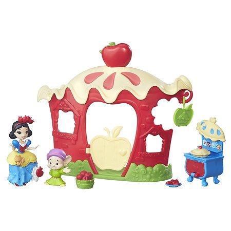 Игровой набор Princess для маленьких  кукол Принцесс домик Белоснежки B7165EU40