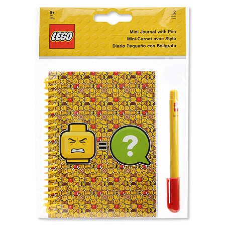 Блокнот LEGO Iconic ручка 51144
