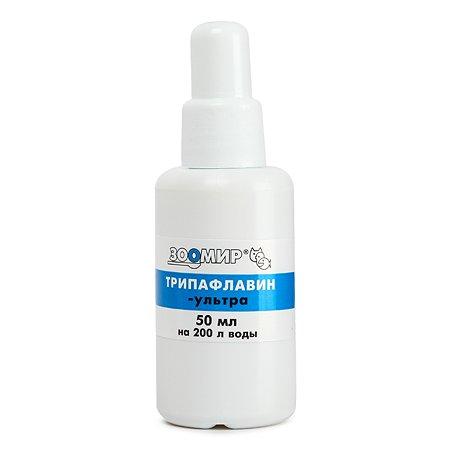 Препарат для рыб Зоомир Трипафлавин-ультра антибактерицидный 50мл