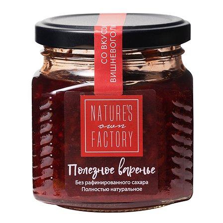 Варенье Natures own factory вишневый пирог 250г
