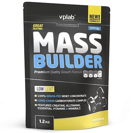 Биологически активная добавка VPLAB Гейнер Mass builder банан 1200г