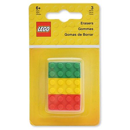 Ластики LEGO 3шт 51158