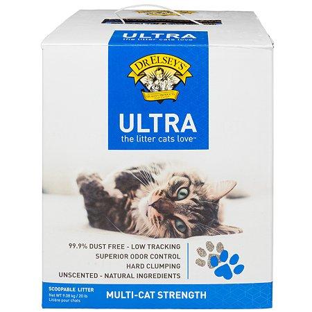 Наполнитель для кошек Dr.Elsey's комкующийся ультра 9.08кг