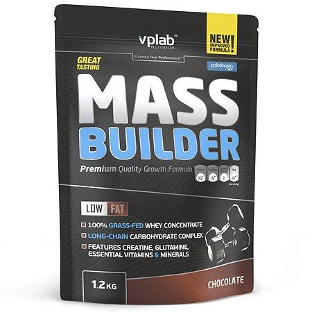 Биологически активная добавка VPLAB Гейнер Mass builder шоколад 1200г