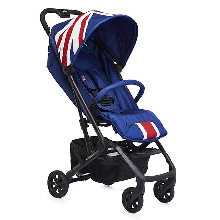 Коляска Easywalker Mini Buggy XS Union Jack Classic с бампером