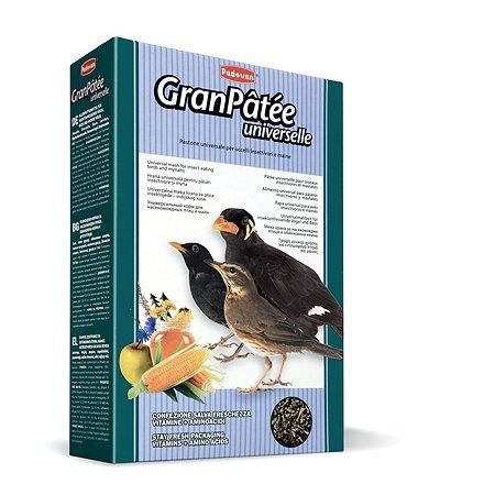 Корм для птиц PADOVAN Granpatee насекомоядных комплескный универсальный 1кг