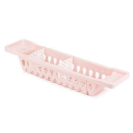 Полка для ванной Little Angel Guardian раздвижная Розовая