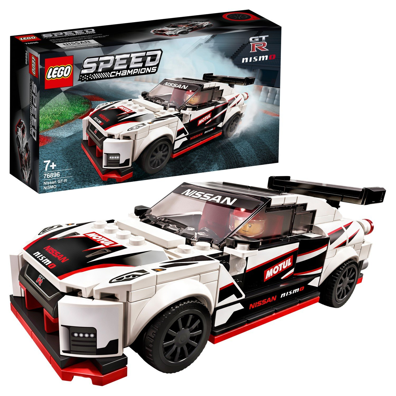 Конструктор LEGO Speed Champions Nissan GT-R NISMO 76896