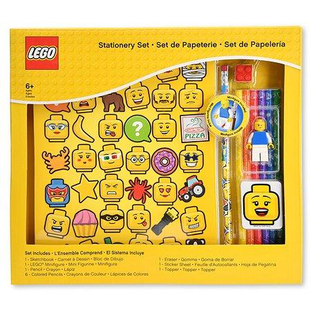 Набор канцелярский LEGO Iconic 11шт 51180