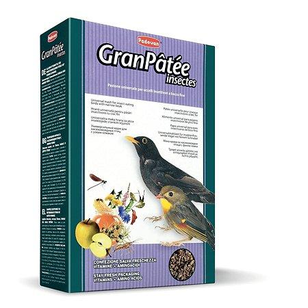 Корм для птиц PADOVAN Granpatee насекомоядных с насекомыми 1кг