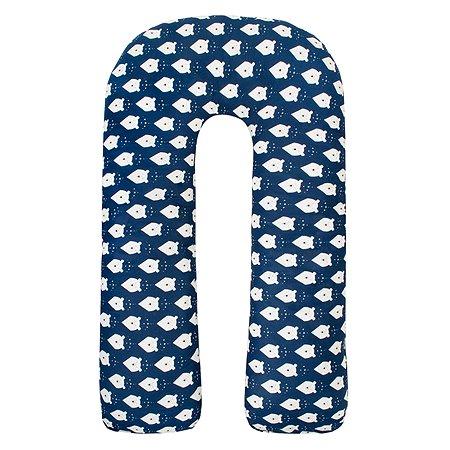 Подушка для беременных AMARO BABY Айсберг U-образная ABDM-40U-BM