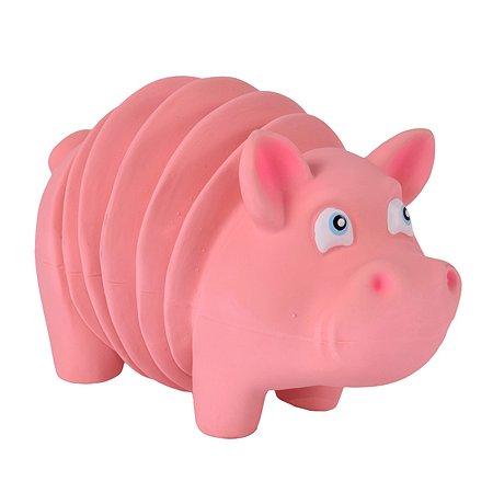Игрушка для собак Petstages OH Accordionz Свинка с пищалкой 68092
